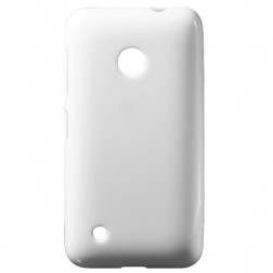 """Jelly Case"" kieto silikono dėklas - baltas (Lumia 530)"