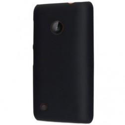 Plastikinis dėklas - juodas (Lumia 530)