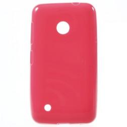 """""""Jelly Case"""" kieto silikono dėklas - raudonas (Lumia 530)"""