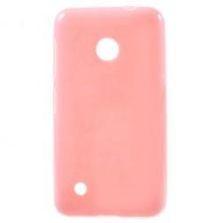"""""""Jelly Case"""" kieto silikono dėklas - rožinis (Lumia 530)"""