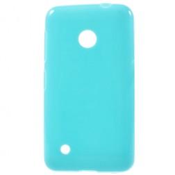 """Jelly Case"" kieto silikono dėklas - mėlynas (Lumia 530)"