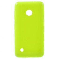 """""""Jelly Case"""" kieto silikono dėklas - žalias (Lumia 530)"""