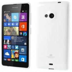 """""""Mercury"""" dėklas - baltas (Lumia 535)"""