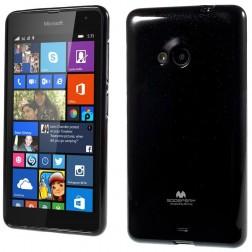 """""""Mercury"""" dėklas - juodas (Lumia 535)"""