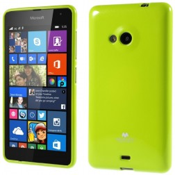 """""""Mercury"""" dėklas - žalias (Lumia 535)"""