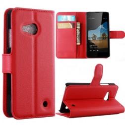 """""""Lychee"""" atverčiamas dėklas - raudonas (Lumia 550)"""