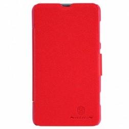 """""""Nillkin"""" Fresh atverčiamas dėklas - raudonas (Lumia 625)"""