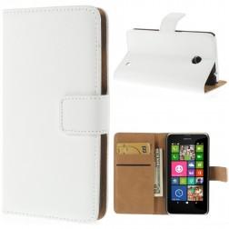 Atverčiamas dėklas - baltas (Lumia 630 / 635)