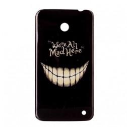 """""""Mad"""" plastikinis dėklas - juodas (Lumia 630 / 635)"""