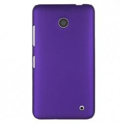 Plastikinis dėklas - violetinis (Lumia 630 / 635)