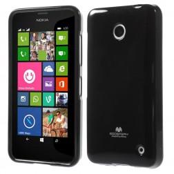 """""""Mercury"""" dėklas - juodas (Lumia 630 / 635)"""