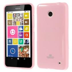 """""""Mercury"""" dėklas - rožinis (Lumia 630 / 635)"""