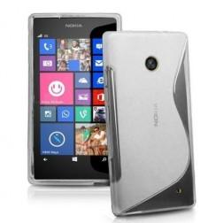 Kieto silikono dėklas - skaidrus (Lumia 630 / 635)