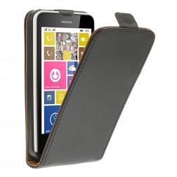 Klasikinis atverčiamas dėklas - juodas (Lumia 630 / 635)
