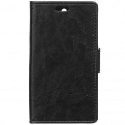 Atverčiamas dėklas - juodas (Lumia 650)