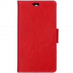 Atverčiamas dėklas - raudonas (Lumia 650)
