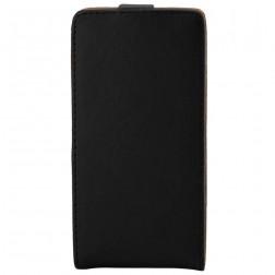 Klasikinis atverčiamas dėklas - juodas (Lumia 650)