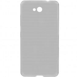 Ploniausias TPU skaidrus dėklas - pilkas (Lumia 650)