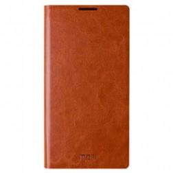 """""""Mofi"""" Rui atverčiamas dėklas - rudas (Lumia 830)"""