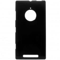 Kieto silikono (TPU) dėklas - juodas (Lumia 830)