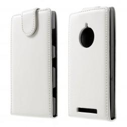 Vertikaliai atverčiamas dėklas - baltas (Lumia 830)