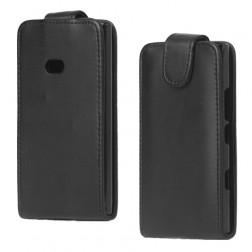 Klasikinis atverčiamas dėklas - juodas (Lumia 900)