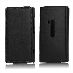 Atverčiamas dėklas - juodas (Lumia 920)