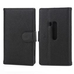 Atverčiamas dėklas, piniginė - juodas (Lumia 920)