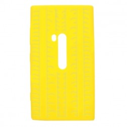"""""""Jelly Case"""" dėklas - geltonas (Lumia 920)"""