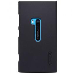 """""""Nillkin"""" Frosted Shield dėklas - juodas + apsauginė ekrano plėvelė (Lumia 920)"""
