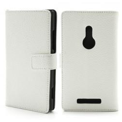 """""""Lychee"""" atverčiamas dėklas - baltas (Lumia 925)"""