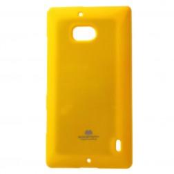 """""""Mercury"""" dėklas - geltonas (Lumia 930)"""