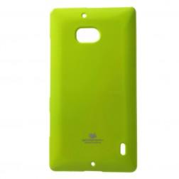 """""""Mercury"""" dėklas - žalias (Lumia 930)"""