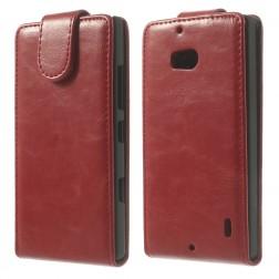 Klasikinis atverčiamas dėklas - raudonas (Lumia 930)