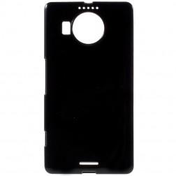 Kieto silikono (TPU) dėklas - juodas (Lumia 950 XL)