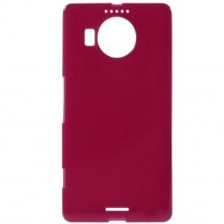 Kieto silikono (TPU) dėklas - raudonas (Lumia 950 XL)