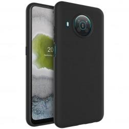 """""""Imak"""" kieto silikono (TPU) dėklas - juodas (Nokia X20 / X10)"""