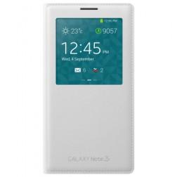 """""""Samsung"""" S View Cover atverčiamas dėklas - baltas (Galaxy Note 3)"""
