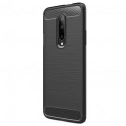 """""""Carbon"""" kieto silikono (TPU) dėklas - juodas (OnePlus 7 Pro)"""