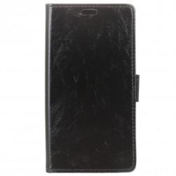 Atverčiamas dėklas, knygutė - juodas (OnePlus 7 Pro)