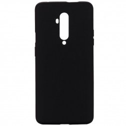"""""""Shell"""" kieto silikono (TPU) dėklas - juodas (OnePlus 7T Pro)"""