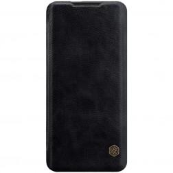 """""""Nillkin"""" Qin atverčiamas dėklas - juodas (OnePlus 7 Pro)"""