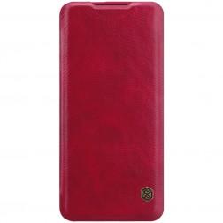 """""""Nillkin"""" Qin atverčiamas dėklas - raudonas (OnePlus 7 Pro)"""
