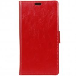 Atverčiamas dėklas, knygutė - raudonas (OnePlus 7 Pro)