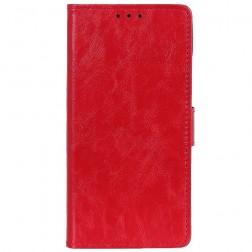 Atverčiamas dėklas, knygutė - raudonas (OnePlus 7)