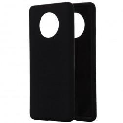 """""""Shell"""" kieto silikono (TPU) dėklas - juodas (OnePlus 7T)"""