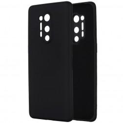 """""""Shell"""" kieto silikono (TPU) dėklas - juodas (OnePlus 8 Pro)"""