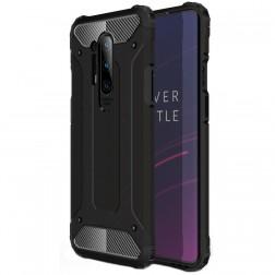 Sustiprintos apsaugos dėklas - juodas (OnePlus 8 Pro)