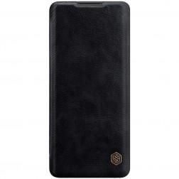 """""""Nillkin"""" Qin atverčiamas dėklas - juodas (OnePlus 8 Pro)"""