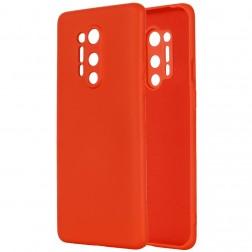 """""""Shell"""" kieto silikono (TPU) dėklas - raudonas (OnePlus 8 Pro)"""